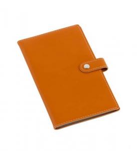 Portabiglietti da visita arancio cm.19,5x11x1h