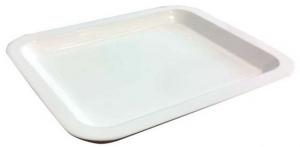 Vassoio bianco cm.13x15,8x3h