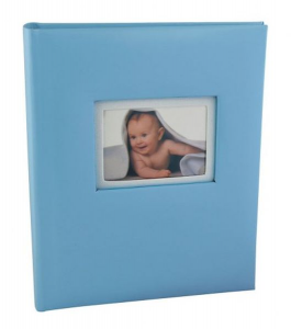 Album portafoto bimbo azzurro cm.17,5x21x3,5h