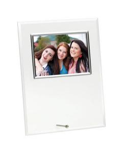 Portafoto glass cm.13x9x1h