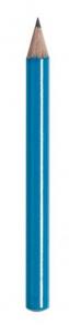 Matita piccola azzura cm.9x0,73x0,73h