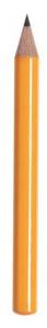 Matita piccola gialla cm.9x0,73x0,73h