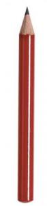Matita rossa piccola cm.9x0,73x0,73h