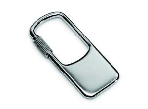 Portachiavi in argento 925 viola cm.5,5x2,3x0,5h