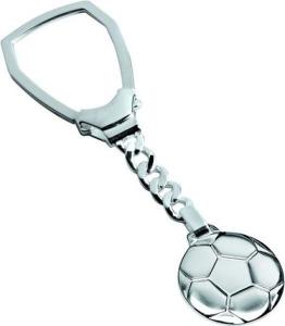 Portachiavi in argento 925 goal cm.9,4x2,5x0,5h