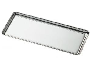 Vassoietto rettangolare stile Cardinale cm.18x5,2x0,8h
