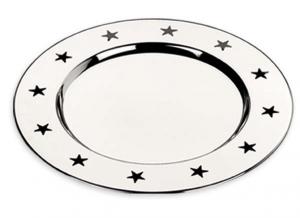 Sottobicchiere stella set 6 pezzi cm.1h diam.10,5