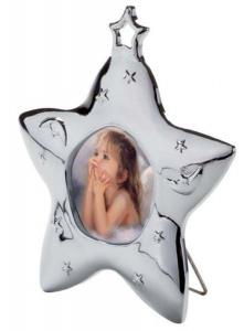 Mini portafoto stella cm.8,5x8x1,5h