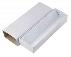 Scatola per penna cartoncino bianco cm.18x5,8x3h
