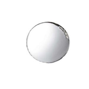 Blasone tondo liscio in argento cm.0,3h diam.3