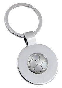 Portachavi pallone da calcio cm.7,8x3,5x1h