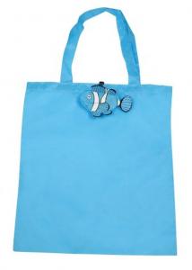 Shopper pesce azzurro cm.43x40x0,2h