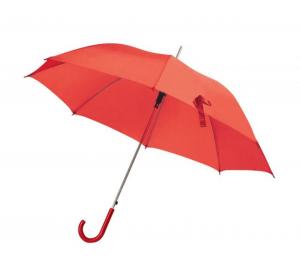 Ombrello rosso con manico plastica rossa automatico cm.106x106x85h