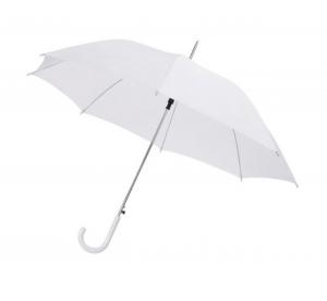 Ombrello Bianco da SPOSA con manico plastica bianca automatico cm.106x106x85h