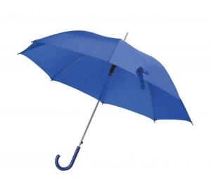 Ombrello blu con manico plastica blu automatico cm.106x106x85h