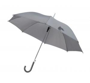 Ombrello grigio con manico plastica grigio automatico cm.106x106x85h