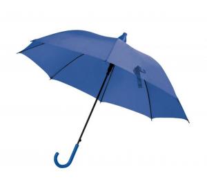Ombrello blu con salvagoccia automatico cm.85h diam.103
