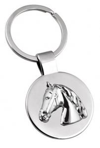 Portachiavi Cavallo Testa di Cavallo cm.7,8x3,5x0,5h