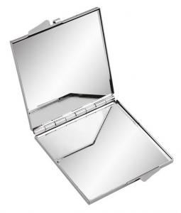Specchietto quadrato in metallo cm.6x6x0,8h