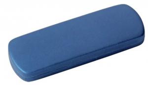 box portachiave in gomma blu cm.15,8x5,7x1,9h