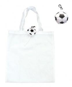 Shopper pallone da calcio cm.43x40x0,2h