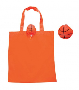 Shopper pallone da basket cm.43x40x0,2h