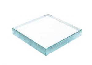 Fermacarte rettangolare in vetro cm.10x10x1,9h