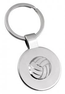 Portachiavi con Pallone Pallavolo Volleyball cm.3,5x7,8x0,5h