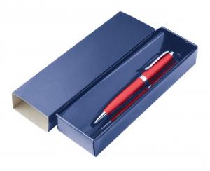 box cartoncino blu - no penna cm.18x5,8x3h