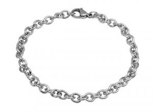 Catena in acciaio ovale 4.3x5.7 cm.19x0,5x0,5h