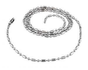 Catenella in acciaio cm.70x0,2x0,2h