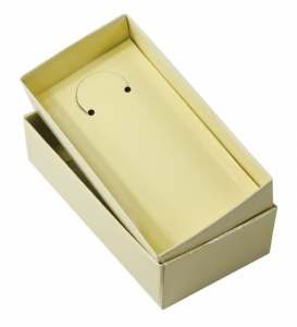 Scatolina in Cartoncino Color Avorio cm.12,5x6,5x2,5h