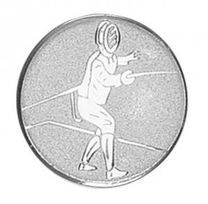 Medaglietta Piastrina Scherma cm.2,5x2,5x0,1h