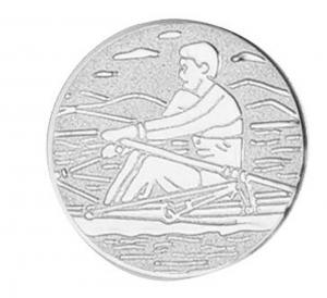 Medaglia Piastrina Canottaggio cm.2,5x2,5x0,1h