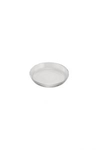 Piatto vassoio in vetro per dolci Miami cm.1,5h diam.13