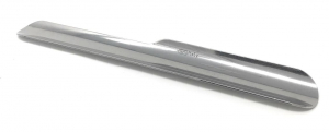 Raccogli Briciole in acciaio argentato argento cm.16x2,3
