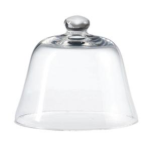 Campana Cloche Coprivivande in vetro cm.14,5h diam.16