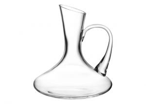 Caraffa decanter in vetro cristallino 1lt cm.22h diam.21,5