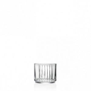 Bicchieri in Cristallo stile Combo Rcr Set 6 pezzi cm.9x9x8,4h Ø9