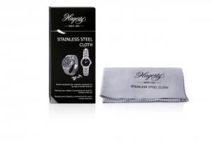 Tessuto impregnato per la pulizia e la cura di orologi e accessori di acciaio o metallo Hagerty