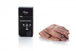 Guanti per la pulizia e la cura di oggetti in argento o metallo argentato Hagerty