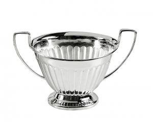Zuccheriera con manici Argentata argento stile Regina Anna 200ml
