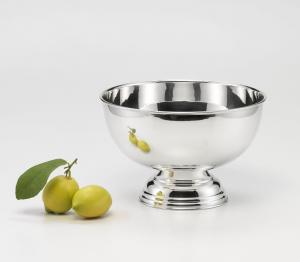 Spumantiera argentata argento sheffield cm.20h diam.31,5