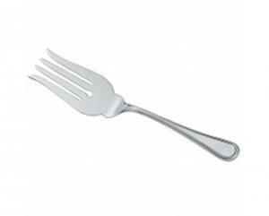 Forchetta per servire pesce stile Inglese argentato argento sheffield Italia cm.24x5,5