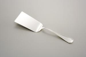 Pala lasagne stile Inglese argentato argento sheffield Italia cm.24,5x5,5