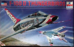 F-100D Thunderbirds (ESCI)