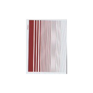 STRIPES ROUNDEL RED