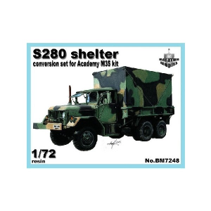 S-280 SHELTER FOR ACADEMY M35