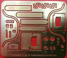 Vauxhall Type D Ambulance