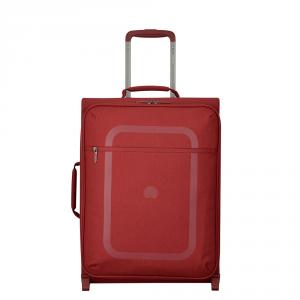 Delsey - Dauphine 3 - Valigia trolley da cabina 2 ruote 55 cm rossa cod. 2249723